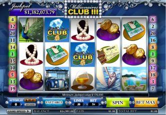 Progressive Pokies Millionaires Club 3
