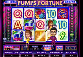 Video Slot Game Fumi's Fortune