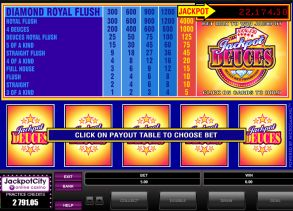 Video Poker Jackpot Game